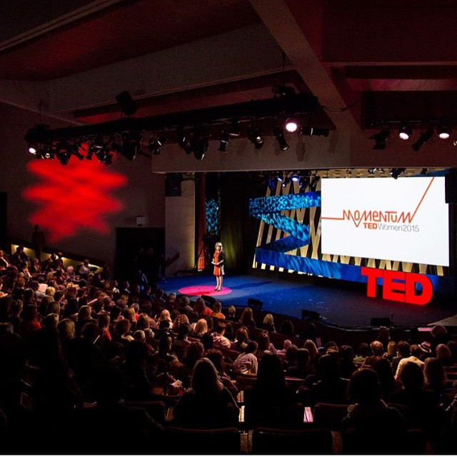 Taking strides, making noise, and building momentum. This TED Talk revolves all around women. We're extremely thrilled to partner up with @TED again for #tedwomen2015 and support this crucial movement!