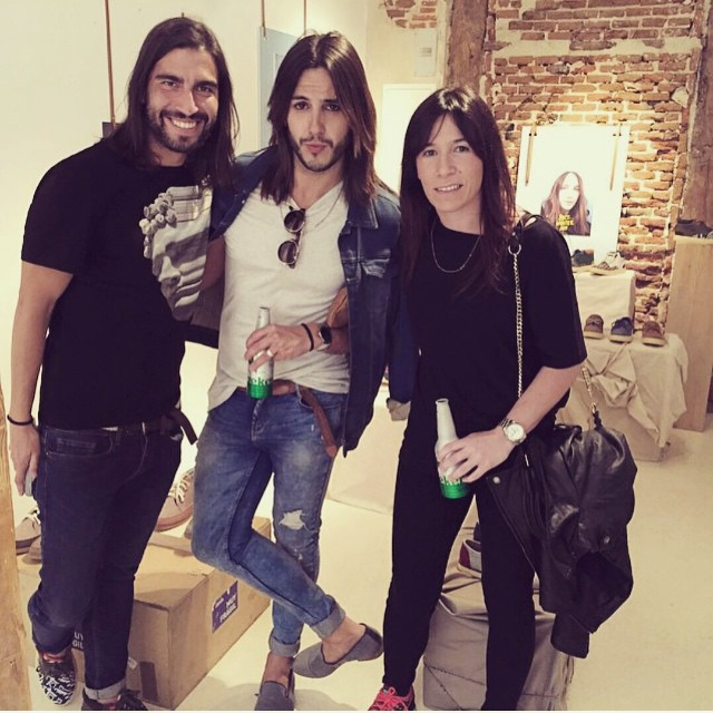 Nuestro Country Manager con Gabriel Llano, director creativo de Moncho Moreno Hair, en el pasado press day en Madrid