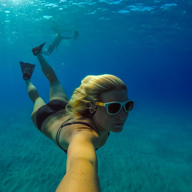 Underwater living!