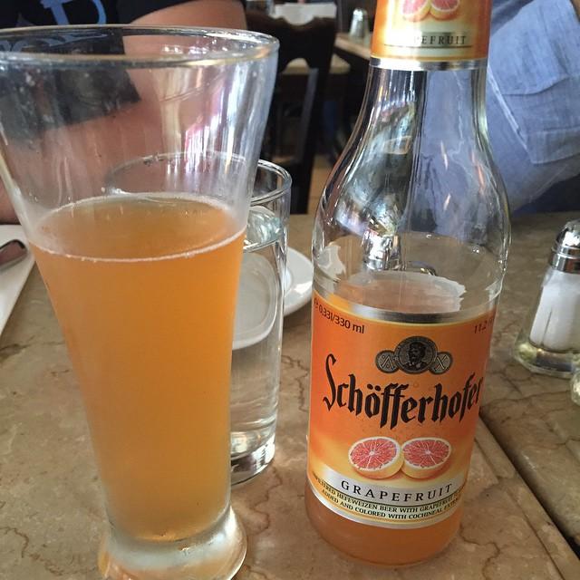 Cerveza de pomelo