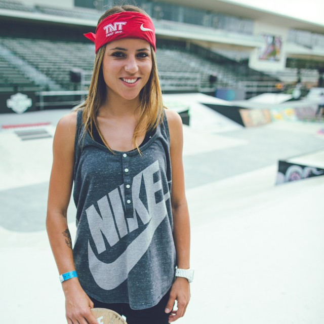 Welcome to the team, Leticia! We couldn't be more proud to announce pro skateboarder and all-around awesome human @LeticiaBufoni is the newest addition to #TeamB4BC.  To celebrate, we've put together the ultimate giveaway pack from her...