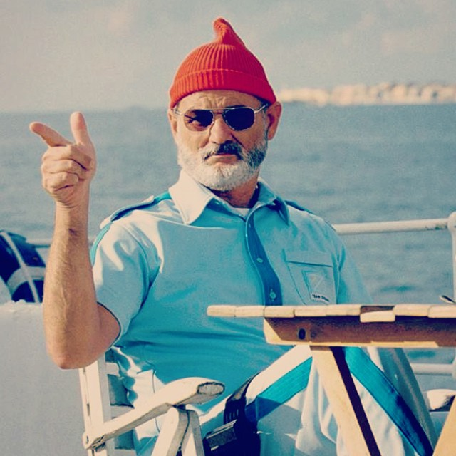 Oh hey Friday, howyadoin? || #bill #friday #ohhey #poolparty #ambrosial #murray #zissou #shii