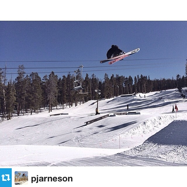 @pjarneson throwing it down at @keystonea51 #riderowned #skimore