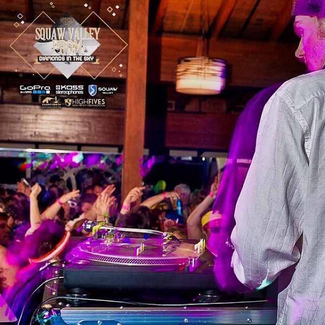 DJ Big in Japan is slated to return as the only #HighFivesAthlete featured at the 2014 #SquawValleyProm | Thank you to @gopro @koss and @squawvalley for making the #DiamondsInTheSky come alive on Feb. 22! Tickets are on sale at (squawvalleyprom.com)