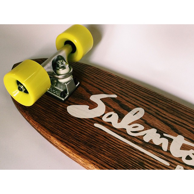Sometimes a classic is just what you need. #handmadeskateboard #skate #Nashville
