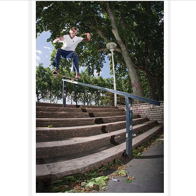 @madarsapse >>> nollie noseslide in Lyon >>>