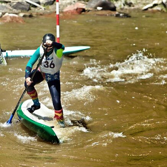 Finding my balance and recovering with a smile at the supcross here in Durango Co for the #animasriverdays. All smiles all day 'erry day. PC: John Lesage @badfishsup @boardworkssurfsup #welivewater #astralloyak @astralgirls