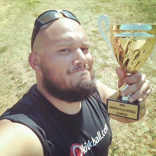 When you wear #wavebornsunglasses you win trophies #waka #flagfootball #winningisfun #sunsoutgunsout