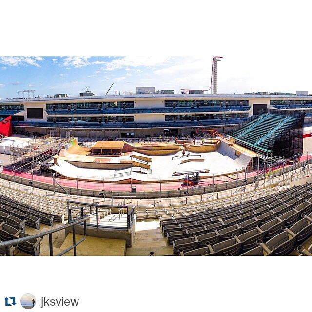 The 2015 #XGames Austin Skateboard Street course is shaping up! (