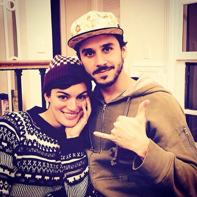 @eliseobarrionuevo y @florviterbo ya tienen su gorro y gorra @underwavebrand! Que esperás para tener el tuyo?