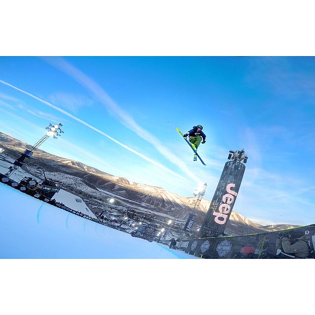 @mrdavidwise airing it out as usual. #shapingskiing