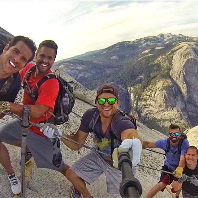 Hiking Half Dome in Yosemite! Let's see those selfies! It's Selfie Sunday! Hashtag #Kameleonz on your pics today to be featured today!  Kameleonz.com