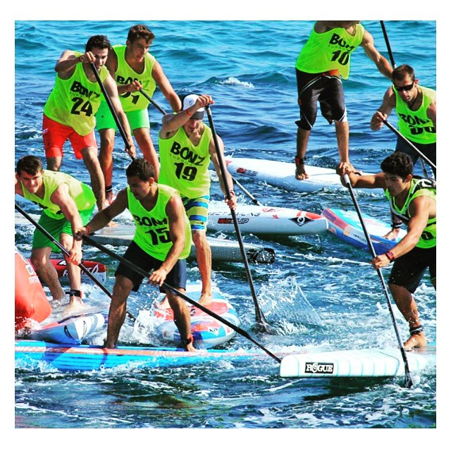 Some pretty tight racing this weekend at the SUP Race Cup In France. #EuroSupTtour #roguesup #repost