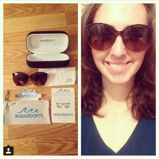 Waveborn's full packaging is designed to keep your shades and your sight safe #waveborn #givesight #seethechange