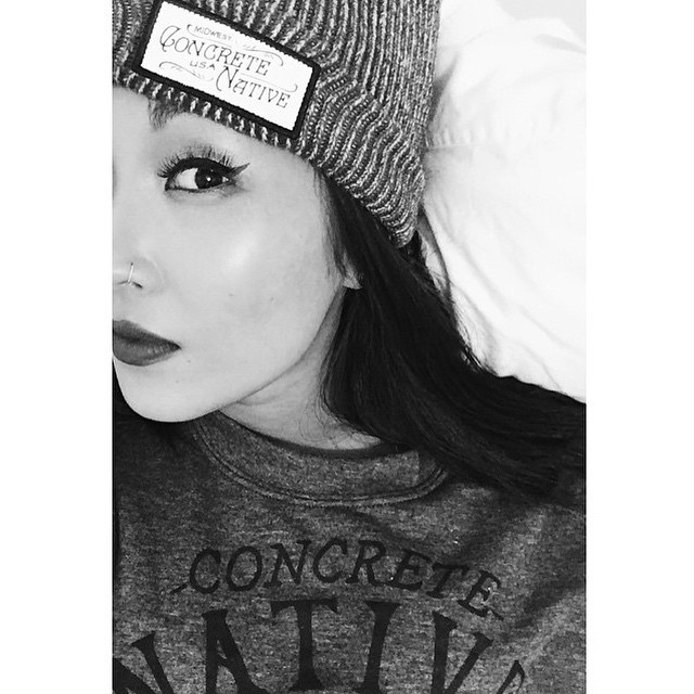 Today we are starting a new tradition! #ShoutOutSunday where we give props to one of our fantastic supporters! Today our #sos goes to @erica.matsuda who sent this lovely shot of herself in our Stalker Crewneck and Buckshot Beanie. Thanks Erica! You are...