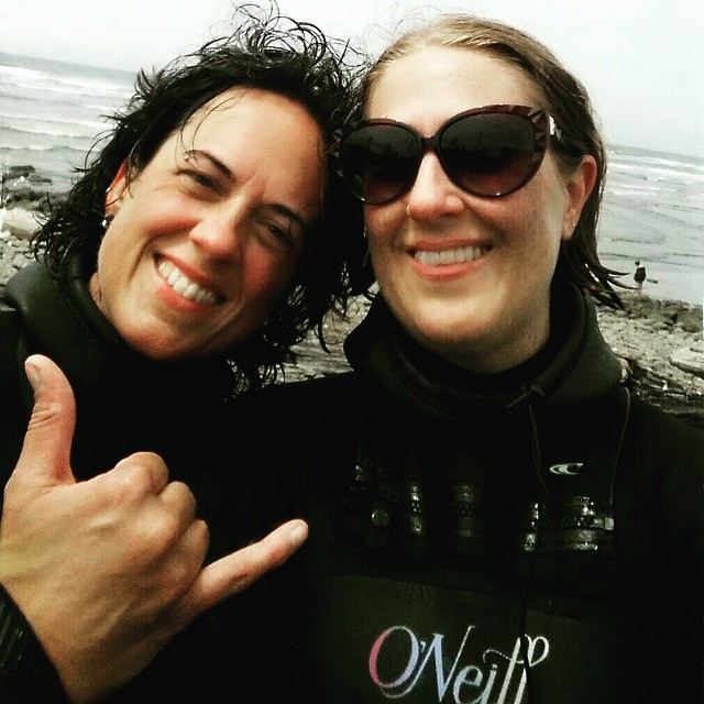 We just love it when former guests email us and tell us that a) they went surfing again after leaving us, b) they were able to put what they learned at Bodhi Surf School into practice, and c) they had great success out in the water and are continuing...