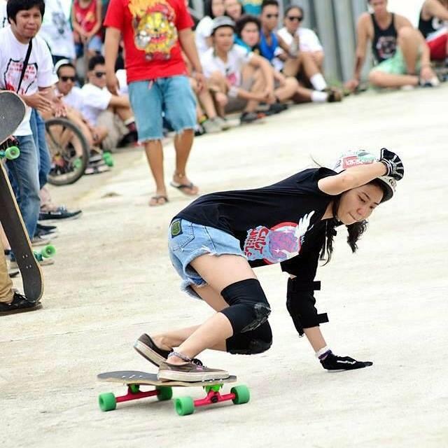 #longboardgirlscrew #philippines' @kimamelo ripping! Ryan Ceazar Cuzon photo.