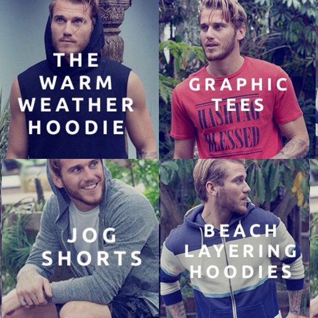 We have your #summer #style checklist guys. 21 days and counting...☀️ #men's #fashion #monday #inspiration #mondaymotivation #getready #hoodies #tees #tanks #whattowear