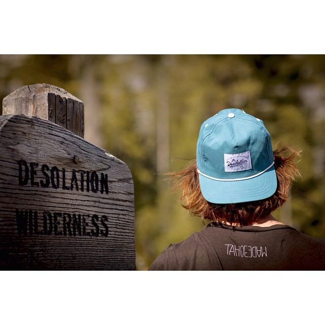 Where it all began.  Photo: @ben_arnst _ #thisistahoe #desolationsupply #itswayoutthere #DESO #madeinUSA