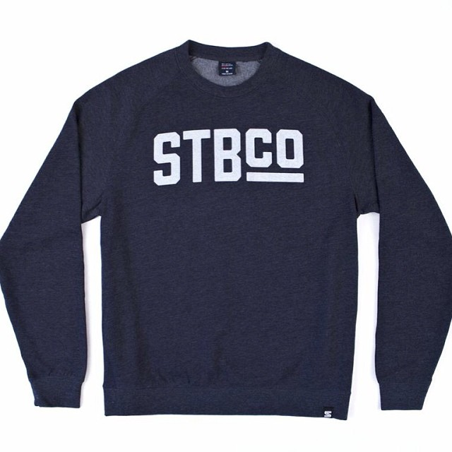 It is getting cold out there. Be sure to grab one of these crew necks to keep warm.