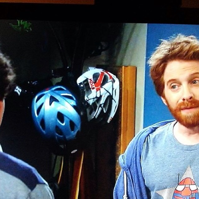 Spotted 2 Kali helmets on last night's episode of DADS on Fox!! #kali #kalipro #kaliprotectives #kalihelmets #tv #DADS #fox