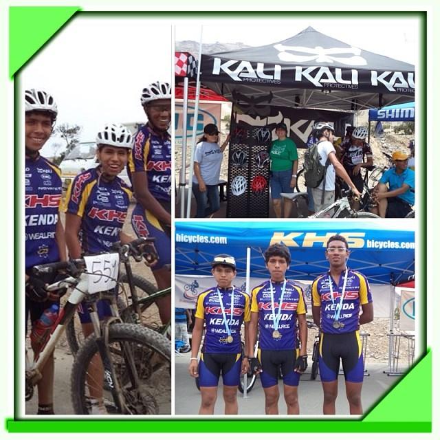 Congratulations to Aldair Perez, John Alexander Rojas and Sixto Velarde on their big win! Check out their awesome Kali gear! #kali #kalipro #kaliprotectives #kaligear #kalihelmet #kaliinperu #maraka