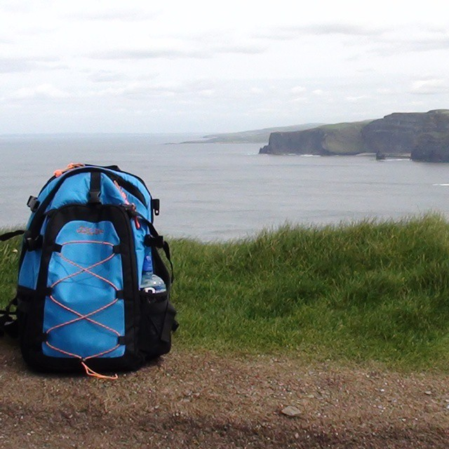 The Cascade #hiking in Ireland! Mags Head looking towards the Cliffs of Moher in Co. Clare, Ireland.  #getoutdoors #Ireland #cliffs #travel #graniterocx