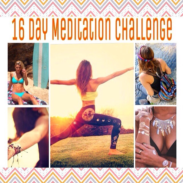 Join our 16 DAY #FullMoonMeditationChallenge & Super Swag #Giveaway starting TODAY!! Sexy Sponsors include: @odinasurf