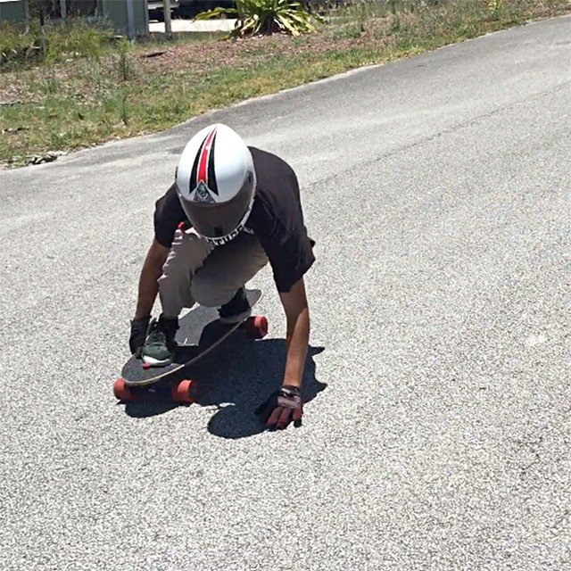 Super grom @trillmanata16 riding the Stalker V2 in Florida. #longboard #longboarding #longboarder #dblongboards #goskate #shred #rad #stoked #skateboard #skateeveryday #florida