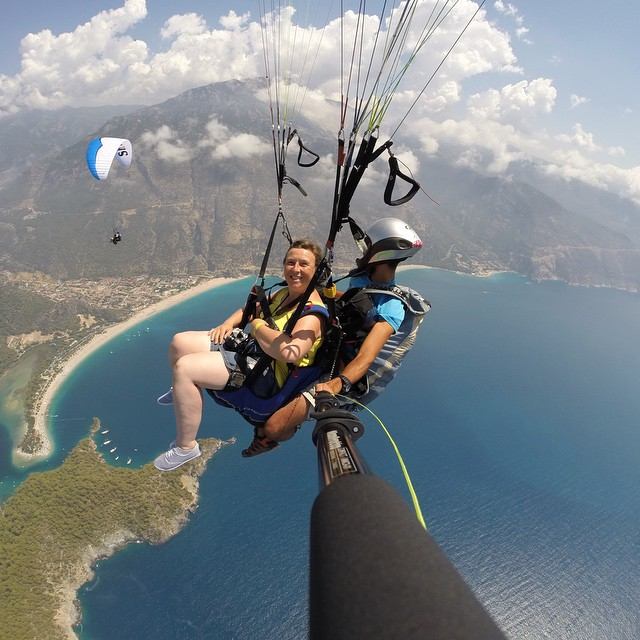 "Photo of the Day! Paradise from above. ""The view over the bay of Ölüdeniz, the mountains, and the national park was simply breathtaking."" Photo by @BurakTuzer. #GoProTravel #PhotoOfTheDay#paragliding  Show us your best travel photos by clicking the..."