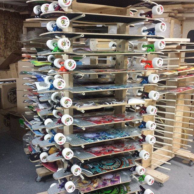 Nice order of Splinters with colored Paris trucks going out the door today.
