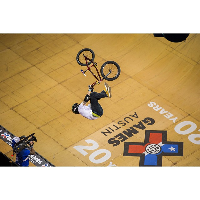 @ToyotaUSA athlete @JamieBestwick is chasing his 10th consecutive ❌ Games BMX Vert gold medal this year. ‪#‎TeamToyota‬ (