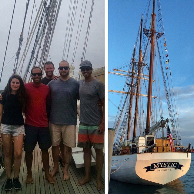 Excited to set sail today with an awesome crew of humans @jackjohnson @cuppow @trashisfortossers on the first leg of @5gyres Sea Change Expedition! We will be conducting research on the plastics that are living in our ocean as we make our  way to Cape...