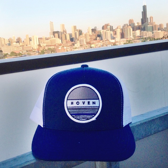 Chicago is always a good idea. #hovenvision #goodmorning #teamhoven #seekyourstyle #snapback #skyline #chicago #city #tuesday #travel #workflow