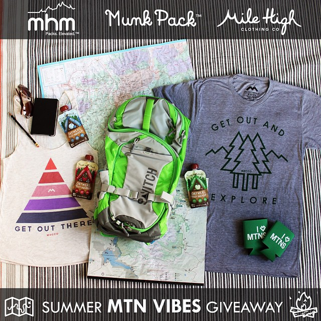 June is here and summer is on erryone's mind! To get you ready for your summer adventures we're giving away a Switch 24, a bunch of delicious @munkpack squeezes and your choice of an @mhcco tee or tank! To enter, (1) FOLLOW all 3 brands (2) POST and...