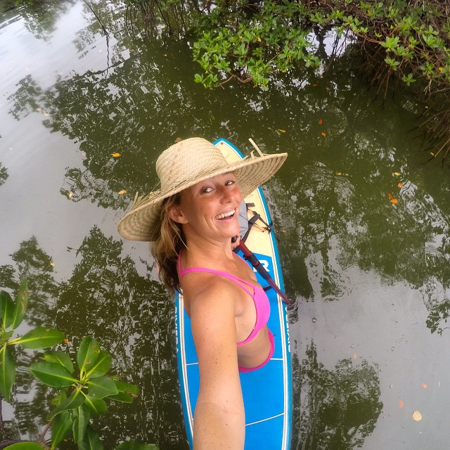 Setting off by paddle board in Lovers Key State Park in search of gators, manatees, tarpon, barracudas, and bull sharks! Anything else I should keep any eye out for??? Thanks Lovers Key Adventures & Events for the board and I hope we both come back in...