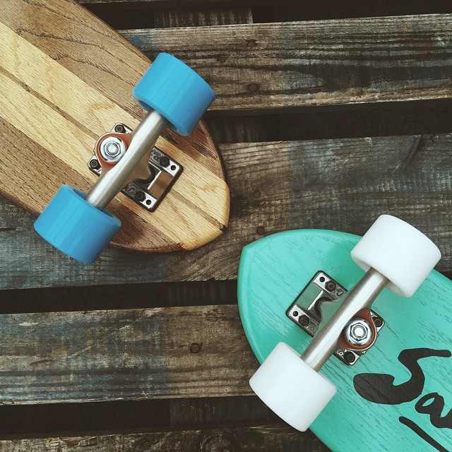 A couple cruisers goin out the door today. #handmadeskateboard #Nashville
