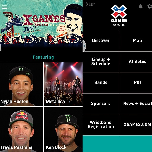The official ‪#‎XGames Austin app is now live!  Click the link on our profile page to download the iPhone version.