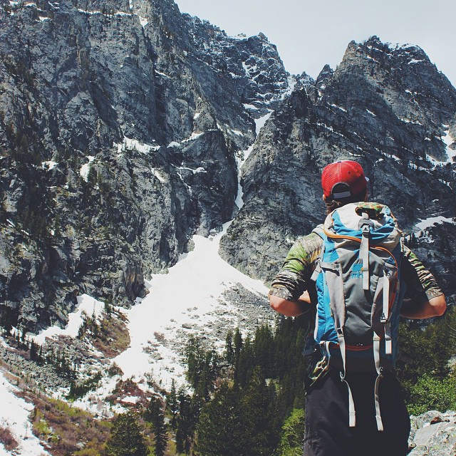 MHMer Conor getting the most out of his Salute in the Tetons. #Tetons #MHMgear #PacksElevated
