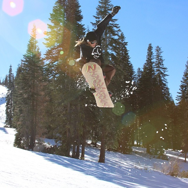 @matt_busedu - base and face , making the best of our low snow conditions @borealmtn