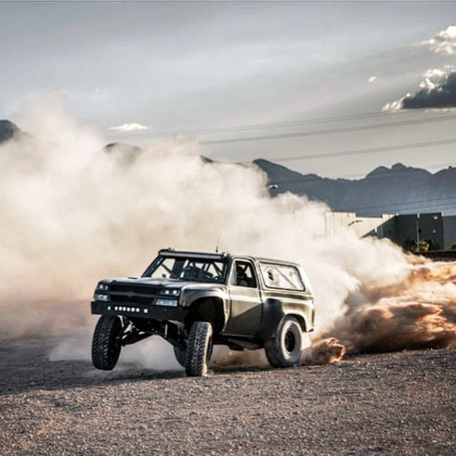 A little prerunner action by our dude @bjbaldwin, who else is rootin' for him to win the upcoming #Baja500?