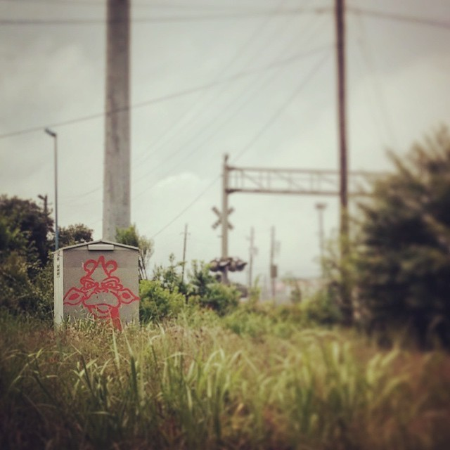 @oblucka.rockabald • • #atx #austintx #texas #tx #spratx #acso #draff #graffiti #grafite #streetart