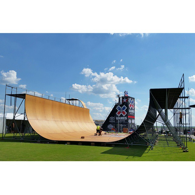 The world's most accomplished skateboarders and BMX riders are gonna get elevated right here on Friday!