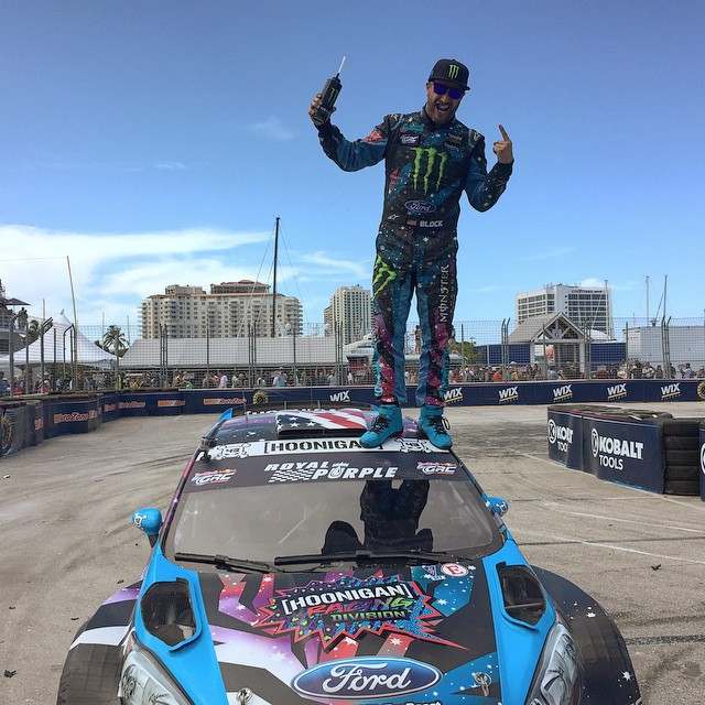 #GOLDSTICKERTIME: Only a few hours left to take advantage of HHIC @kblock43's #globalrallycross win on Sunday! All registered users on #HooniganDOTcom get a FREE gold sticker with every order over $13 and a free gold HNGN license plate frame if you...