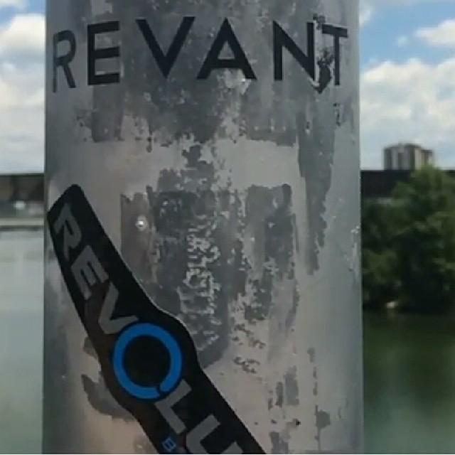 Good place for a #revbalance sticker.  #findyourbalance #balanceboards #madeinusa #boardsports #train