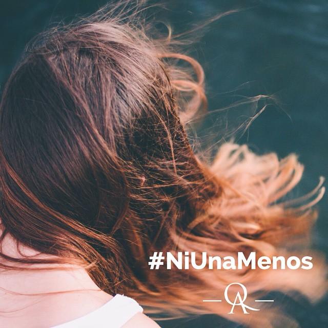 #NiUnaMenos www.QA.com.ar