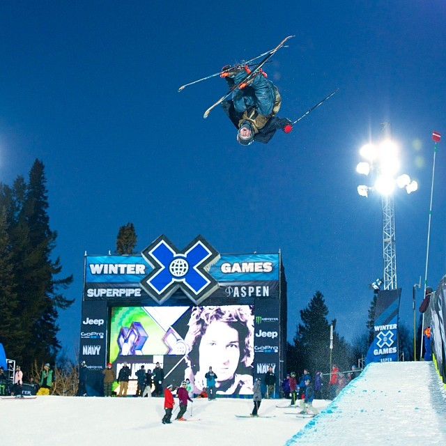 Men's Ski SuperPipe Elims going down now! A little action before we kick into full gear tomorrow! #xgames (Photo @Wilhelmvisualworks )