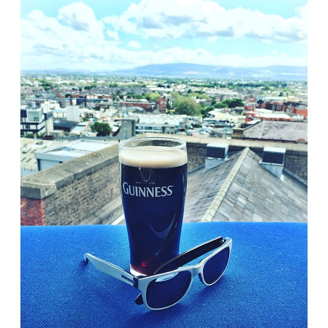 Beautiful Day from the #Guinness Gravity Bar | Dublin, Ireland. Where do you wish you could take your Hovens?