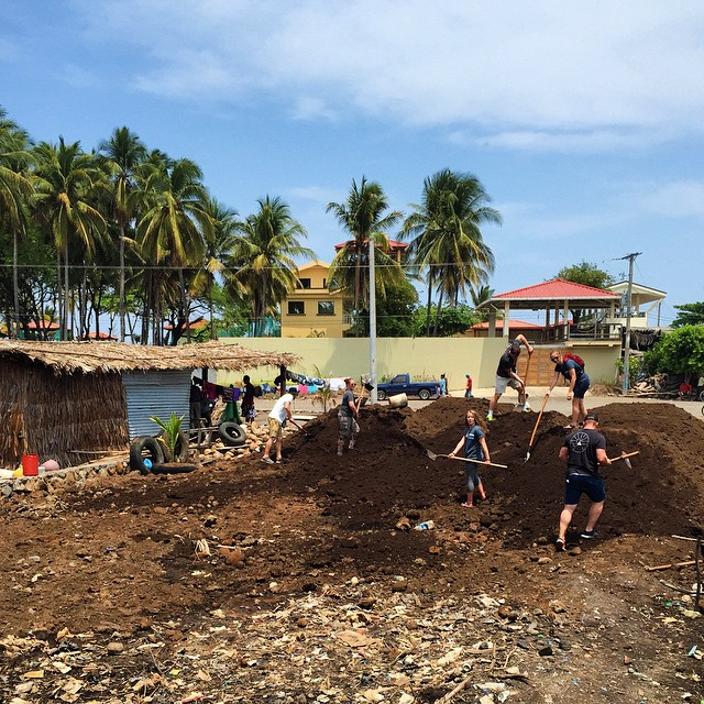 Four weeks ago, a tidal wave hit the coastline of El Salvador burying the homes of 19 families. Yesterday, we started multiple projects within the community including teaching proper health practices, boosting moral with the children, laying the...