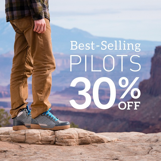Last chance to get Pilots on sale! Pick up a pair while supplies last. #getoutthere